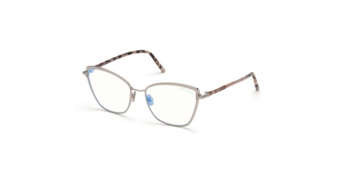Tom Ford Tom Ford TF5740-B Blue Control TF 5740-B 016 Shiny Light Ruthenium