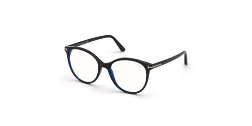Tom Ford Tom Ford TF5742-B Blue Control TF 5742-B 001 Shiny Black