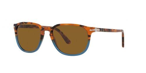 PO3019S PO 3019S 112033 Brown Tortoise Opal Blue
