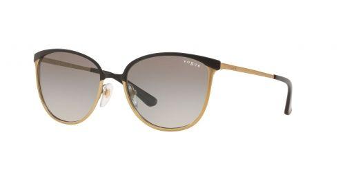 Vogue Vogue VO4002S VO 4002S 513411 Top Matte Black/Brushed Gold
