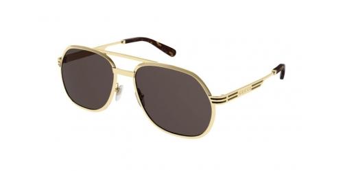 Gucci Gucci SEASONAL ICON GG0981S GG 0981S 001 Gold