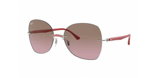 Ray-Ban Ray-Ban RB8066 003/14 Red on Silver
