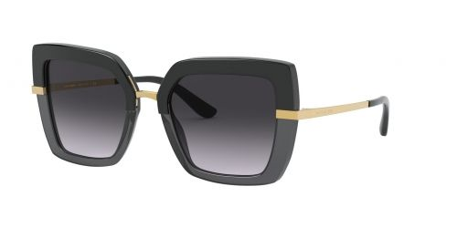 Dolce & Gabbana Dolce & Gabbana DG4373 32468G Black On Transparent Black