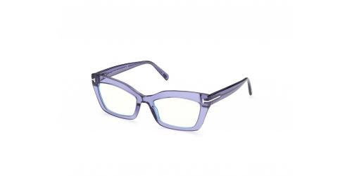 Tom Ford Tom Ford TF5766-B Blue Control TF 5766-B 078 Shiny Lilac