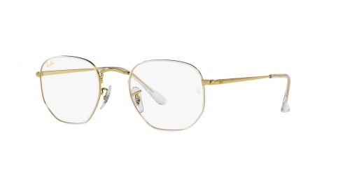 Ray-Ban Ray-Ban RX6448 3104 White On Legend Gold