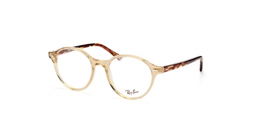 Ray-Ban RX7118 8021 transparent yellow