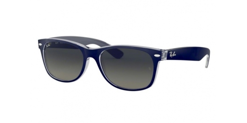 Ray-Ban Wayfarer RB 2132 605371 Matte Blue on Trans