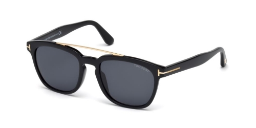 Tom Ford HOLT TF0516 01A Shiny Black