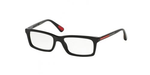 Prada Linea Rossa PS02CV PS 02CV 1AB1O1 Black