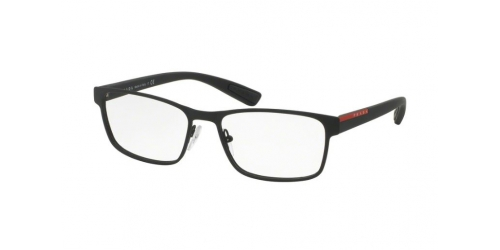Prada Linea Rossa PS50GV PS 50GV DG01O1 Black Rubber