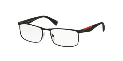 Prada Linea Rossa PS54FV DG01O1 BLACK RUBBER
