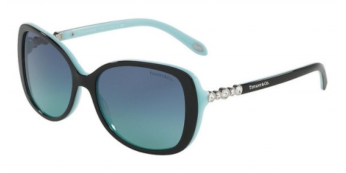 Tiffany Tiffany TF4121B TF 4121B 80559S BLACK/BLUE