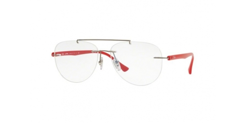 Ray-Ban RX8749 1192 Gunmetal/Red