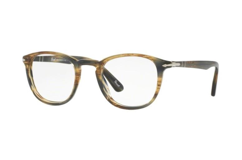 89117c535a Persol PO3143V PO 3143V 1049 Striped Brown Grey