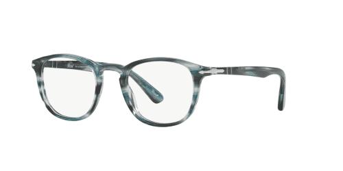 Persol Persol PO3143V PO 3143V 1051 Striped Grey Blue