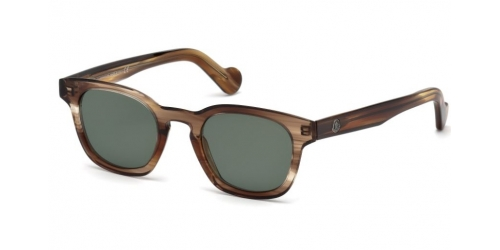 Moncler ML0072 47R Light Brown/Green