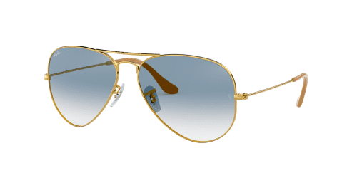 AVIATOR LARGE RB3025 AVIATOR LARGE RB 3025 001/3F Gold