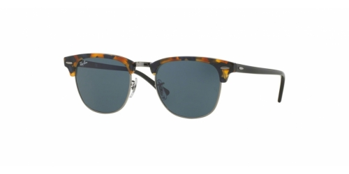 Ray-Ban Clubmaster RB3016 1158R5 Spotted Blue Havana