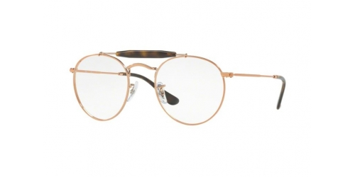 Ray-Ban RX3747V RX 3747V 2943 Shiny Copper
