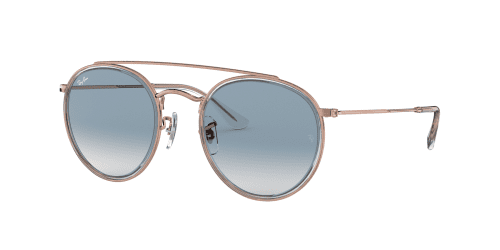 Ray-Ban RB3647N RB 3647N 90683F Copper/Blue