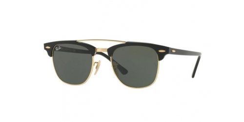 Ray-Ban RB3816 Clubmaster Doublebridge 901 Black