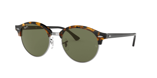 Ray-Ban RB4246 Clubround 1157 Spotted Black Havana