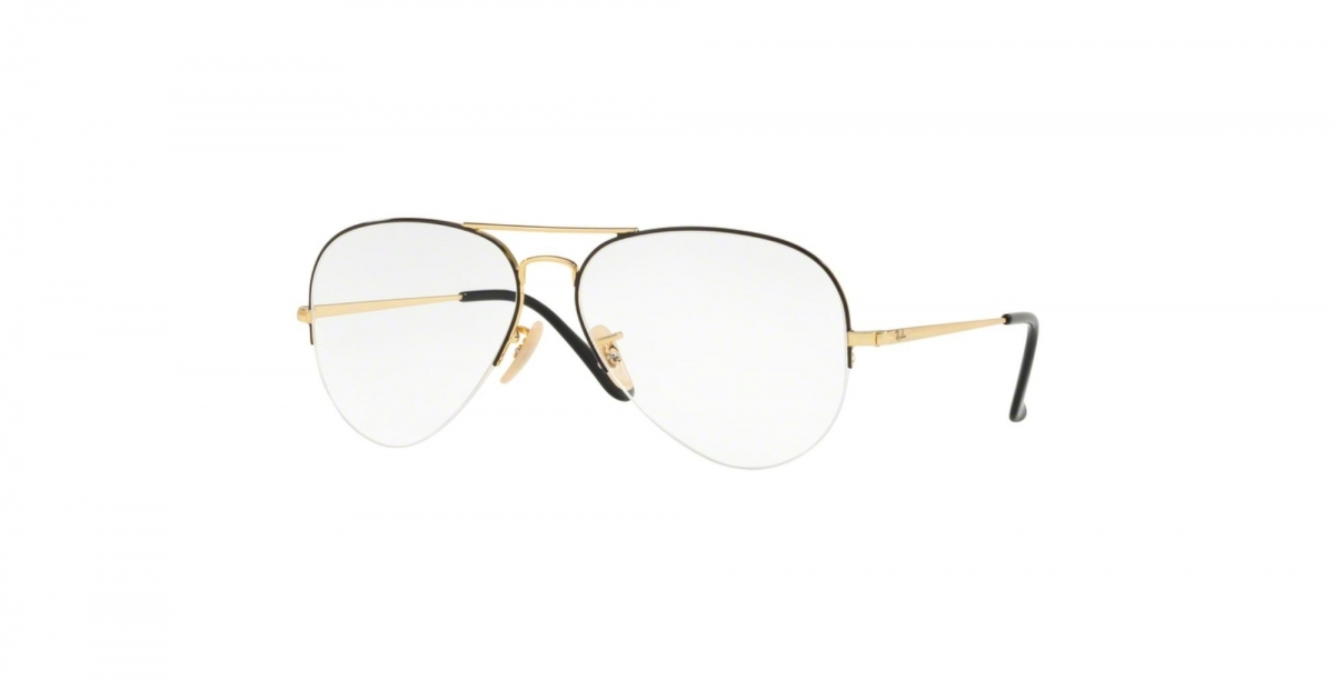 5590fcb709 Ray-Ban RX6589 RX 6589 2946 Gold Top Black