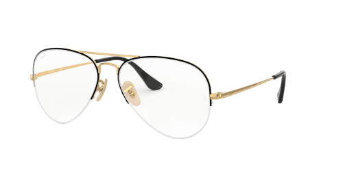 Ray-Ban Ray-Ban RX6589 2946 Gold Top Black