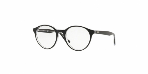 Ray-Ban RX5361 2034 Top Black on Transparent