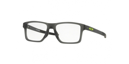 Oakley OX8143 CHAMFER SQUARED OX814302 Satin Grey Smoke