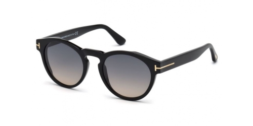 Tom Ford Margaux-02 TF0615 01B Shiny Black