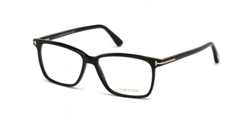 Tom Ford TF5478-B Blue Control TF 5478-B 001 Shiny Black