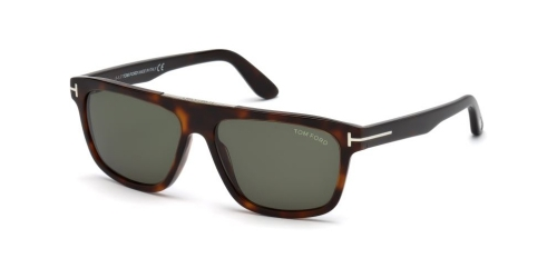 Tom Ford Cecilio-02 TF0628 52N Dark Havana