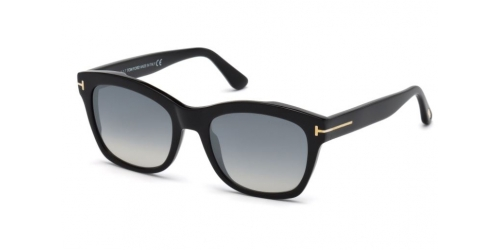 Tom Ford Lauren-02 TF0614 01C Shiny Black