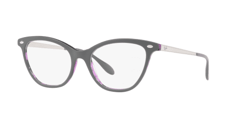 Ray-Ban RX5360 5718 Top Grey on Havana Violet