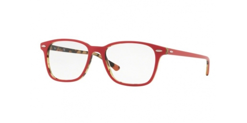 Ray-Ban RX7119 5714 Top Bordeaux on Havana Green