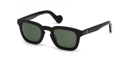 Moncler ML0009 01N Shiny Black/Green