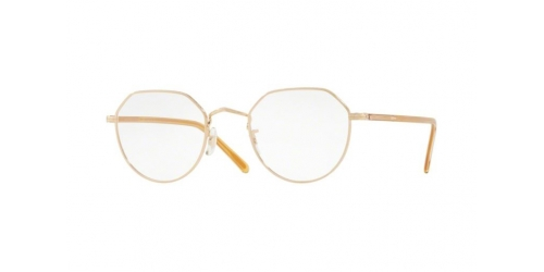 Oliver Peoples OP-43 30TH JAPANESE TITANIUM OV1228T OV 1228T 5035 Gold