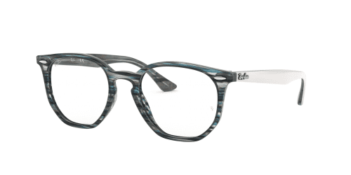 Ray-Ban Ray-Ban RX7151 5801 Blue/Grey Striped