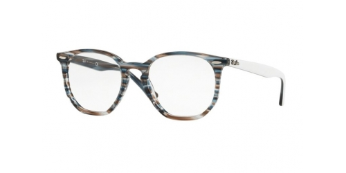 Ray-Ban RX7151 5801 Blue/Grey Striped