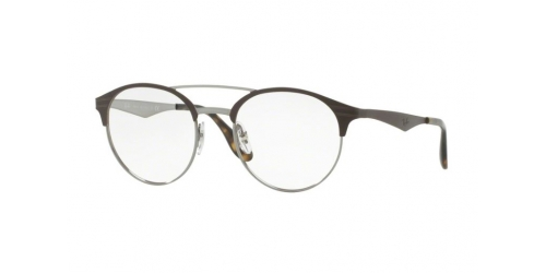 Ray-Ban RX3545V RX 3545V 2912 Gunmetal/Matte Brown