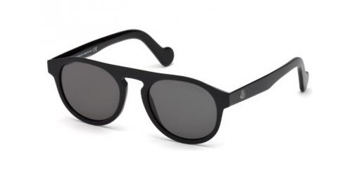Moncler ML0073 01A Shiny Black