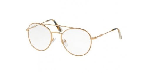 Prada PR55UV PR 55UV 7OE1O1 Antique Gold