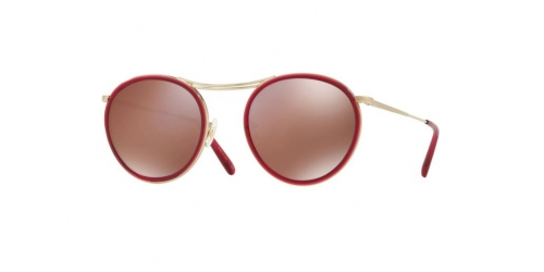 Oliver Peoples MP-3 30TH OV1219S OV 1219S 5035W4 Soft Gold/Bright Magenta