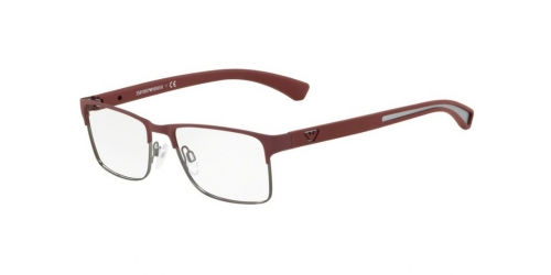 Emporio Armani EA1052 3232 Bordeaux Rubber/Matte Gunmetal