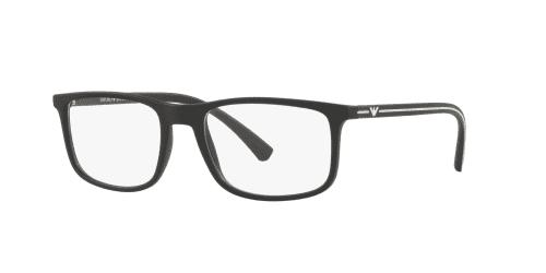 Emporio Armani EA3135 5063 Rubber Black