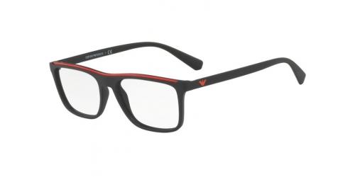 Emporio Armani EA3124 5042 Matte Black/Red