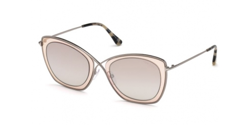 Tom Ford INDIA-02 TF0605 47G Light Brown