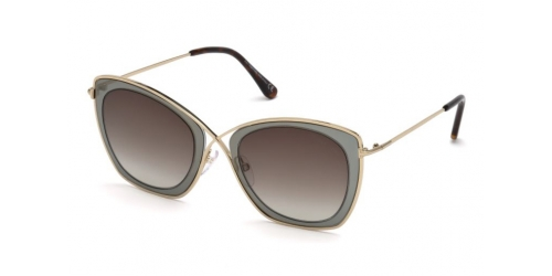 Tom Ford INDIA-02 TF0605 50K Dark Brown
