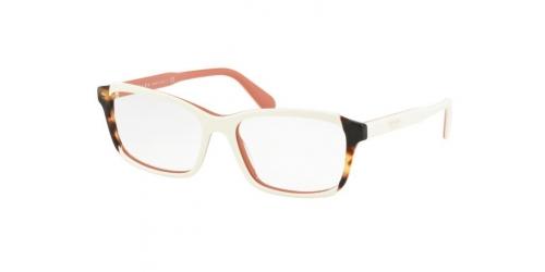 Prada PR01VV PR 01VV 0R91O1 Top Ivory/Pink/Medium Havana